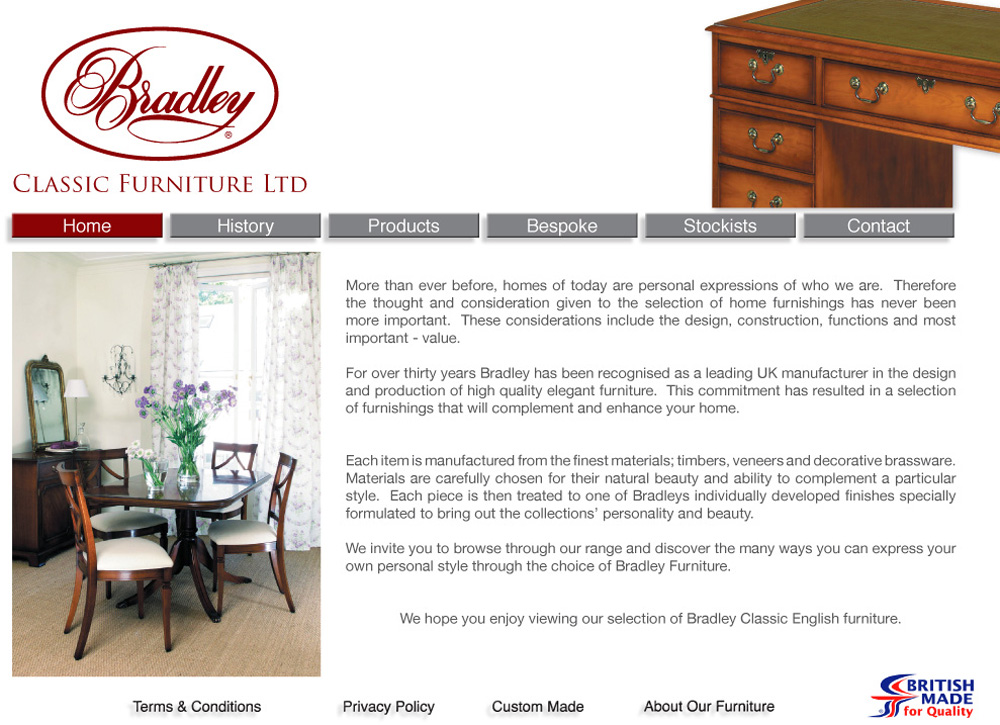 Welcome To Bradley Classic Furniture.